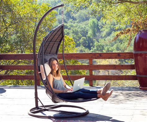 outdoor hanging chair outdoor relaxation furniture outdoor hanging chair