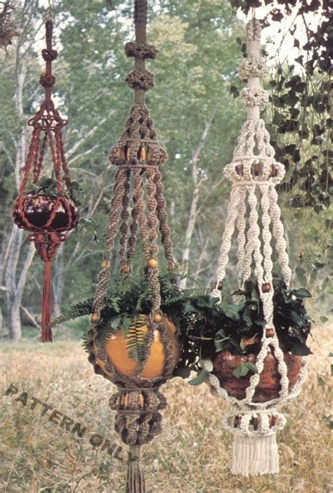 Macrame Hanging Planter Patterns - best 25 macrame plant hanger patterns ideas on