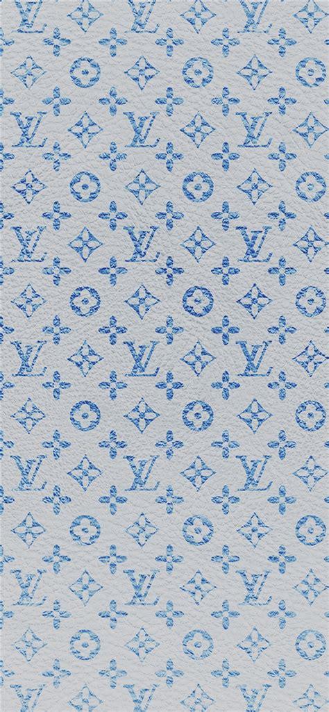 louis vuitton blue pattern art iphone  wallpapers