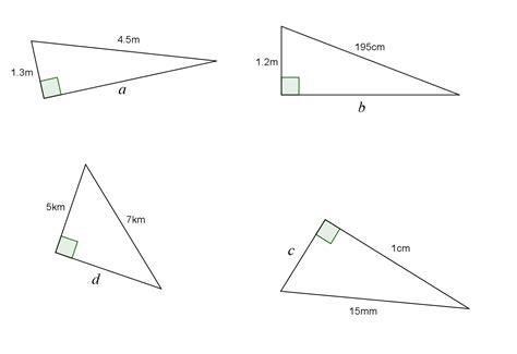 pythagoras theorem questions my maths world s