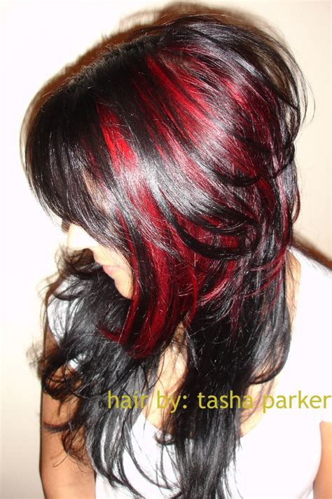 hair by tasha parker 23 best red black hair images on pinterest hair coloring