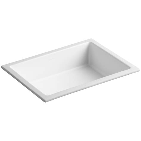 kohler square bathroom sink kohler verticyl rectangular undermount bathroom sink with