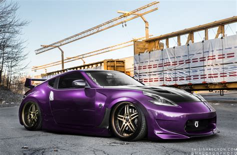 purple nissan purplehaz34 s amuzing 370z mppsociety