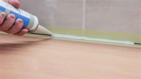 la pose de joints en silicone