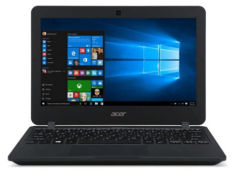 acer preps travelmate b117 windows 10 education laptop to challenge chromebooks