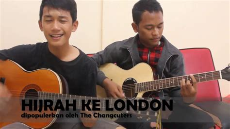 tutorial gitar hijrah ke london hijrah ke london cover akustik youtube