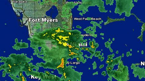 south florida weather map weather forecast heavy rains wednesday in south florida