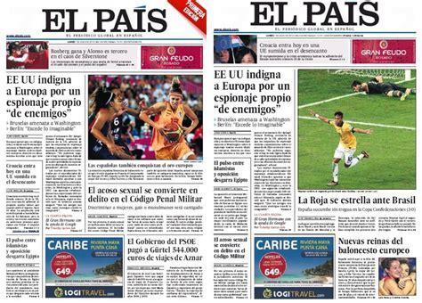 Comentarios De Noticias Y Articulos Ceonas Y Derrotados Compiten Por La Portada El Pa 205 S