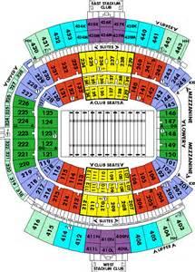 Jaguars Parking Map Everbank Field Tickets Everbank Field Jacksonville Fl