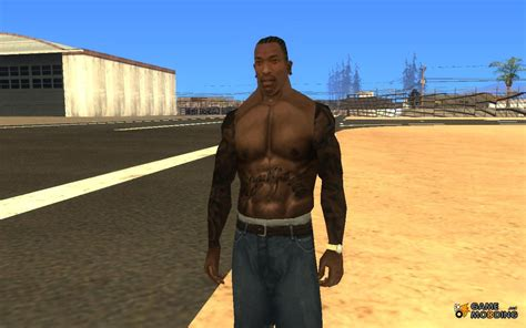 gta tattoos clothes for gta san andreas with automatic installation