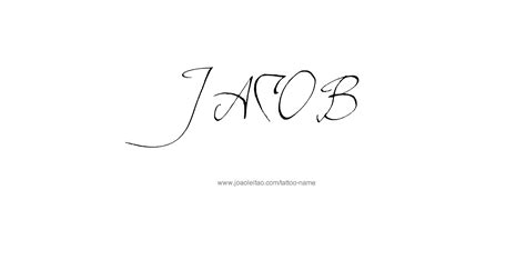 jacob tattoo designs jacob name designs