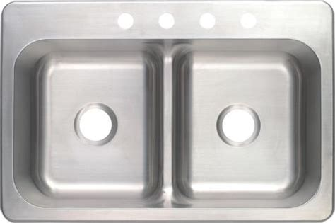 low divide stainless steel sink tuscany 8 1 2 quot stainless steel low divide bowl