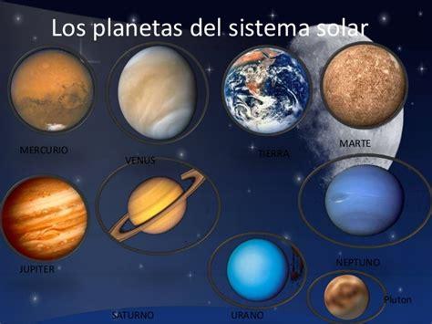 imagenes del universo con los planetas conociendo a los planetas del sistema solar