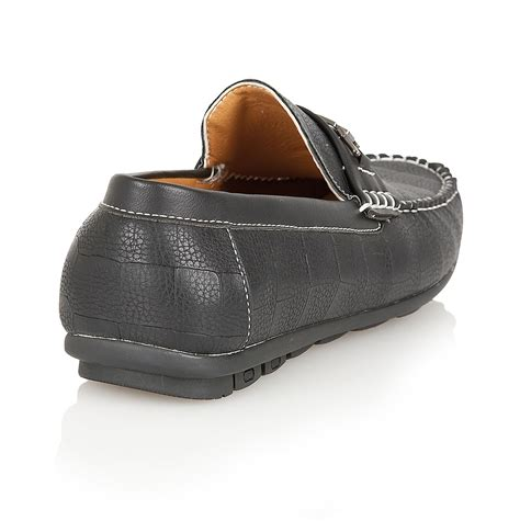 mens designer slippers mens designer leather look italian loafers casual moccasin