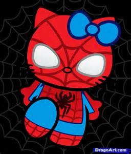 amazing spiderman drawings kids coloring