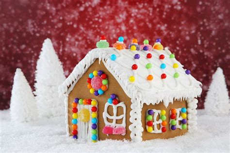 How To Make A Gingerbread House Out Of Paper - how to make a gingerbread house