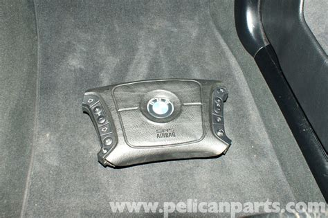 bmw e39 5 series steering wheel removal 1997 2003 525i