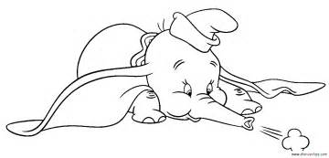 dumbo coloring pages free walt disney dumbo coloring pages