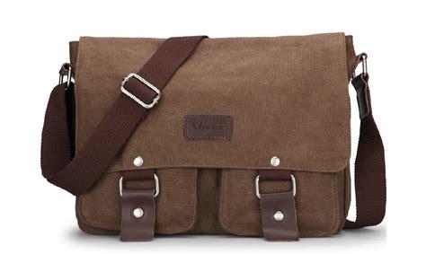 vintage messenger bag coffee black messenger bag