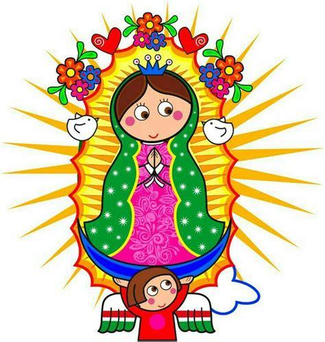 imagen virgen guadalupe infantil cuidame plisados virgencita de guadalupe virgen de