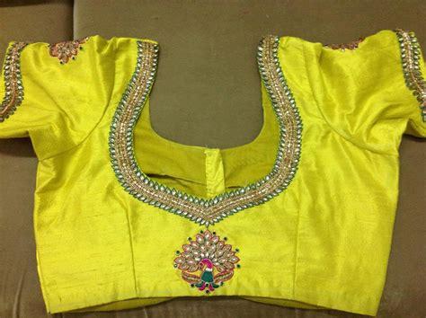 Design Pattern Blouse Back Neck | pattu blouse back neck designs boutiquesarees com