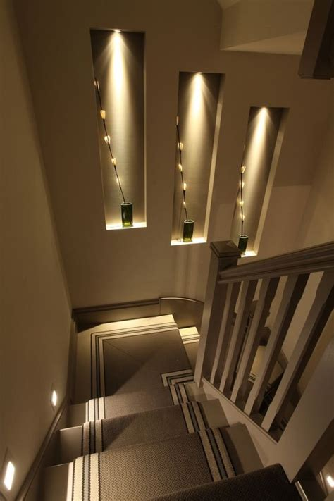 stairway sconces decorative wall niches that will spice up your home