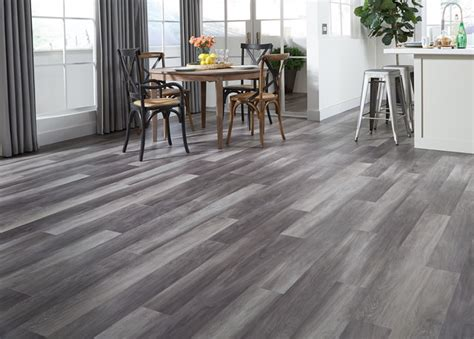 Tranquility 3mm Stormy Gray Oak Luxury Vinyl Plank (LVP) Flooring   Contemporary   Kitchen