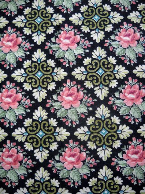 floral pattern vintage fabric vintage fabric floral design prints pinterest