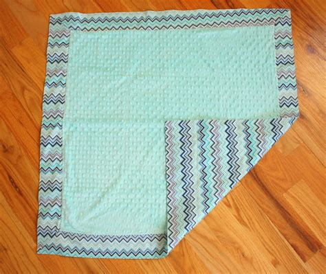 Baby Quilt Binding by Baby Blanket Tutorial With Cuddle Fabric Diary Of A