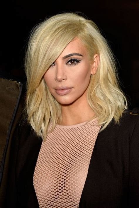 Kim Kardashian and the Most Dramatic Celebrity Hair Color