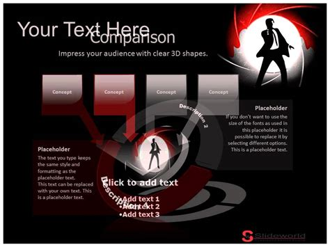 powerpoint templates james bond james bond silhouette powerpoint presentation templates