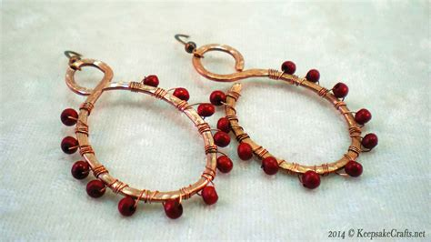 how to use beading wire fantastic copper wire jewelry tutorials photos