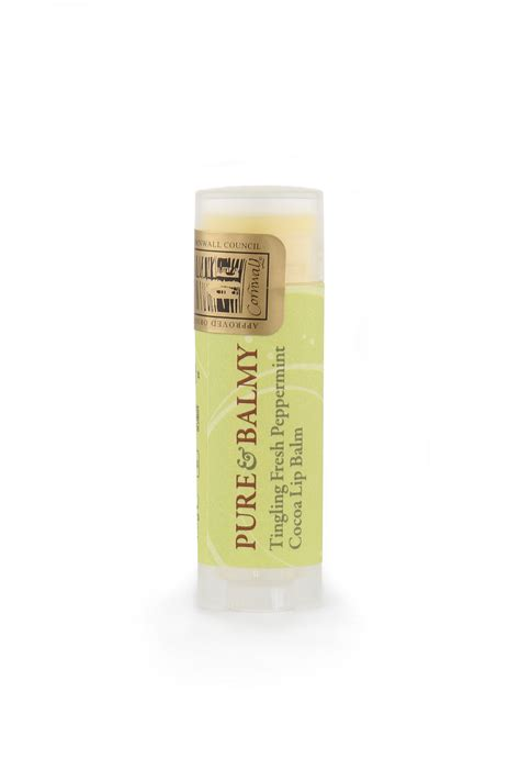 Kissably Fresh by Tingling Fresh Peppermint Cocoa Lip Balm Balms And