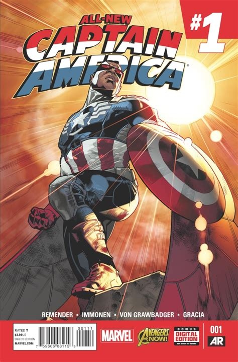 Captain America Marvel America 1 exclusive marvel preview all new captain america 1