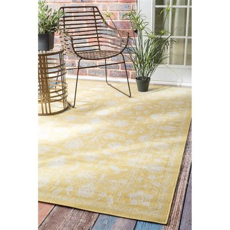 Vintage Outdoor Rug Nuloom Traditional Modern Indoor And Outdoor Vintage Porch Rug