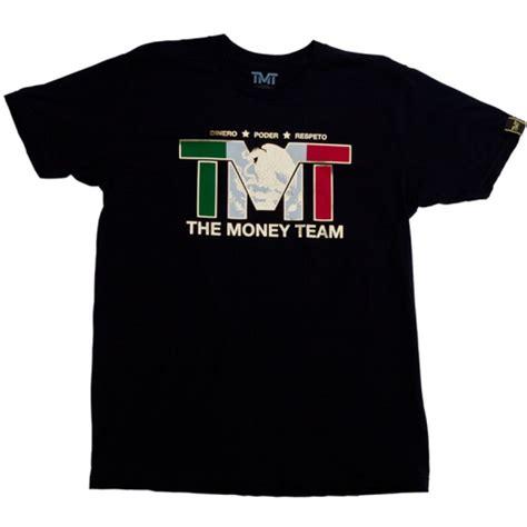 Tshirt T Shirt Tmt tmt the money team independance mexico black flag