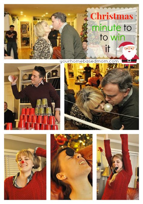 minute to win it holiday party home and heart diy