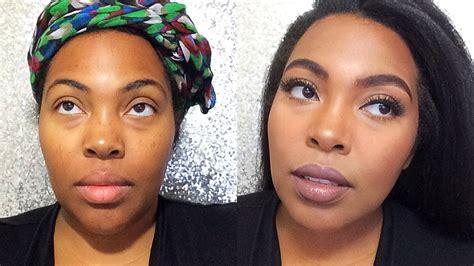 makeup tutorial natural look for brown skin makeup for brown skin everyday drugstore natural look