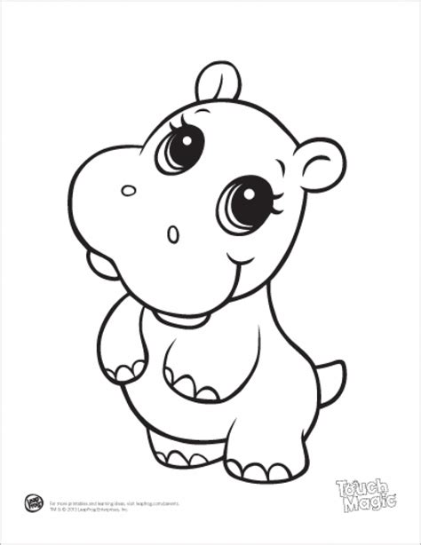 Printable Animal Coloring Pages by Get This Printable Baby Animal Coloring Pages 64038