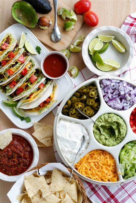 taco bar topping ideas guaca tacos guacamole the o jays and shells