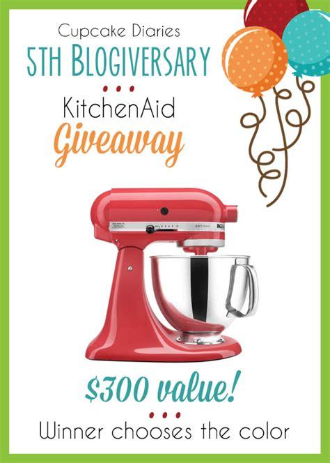 Kitchenaid Giveaway - kitchenaid giveaway for cupcake diaries 5th blogiversary housewives of riverton
