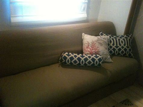 rv couch slipcovers pin by allison cox on handy man pinterest