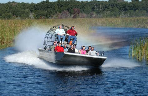 fan boat tours miami boggy creek airboat rides what s that all about