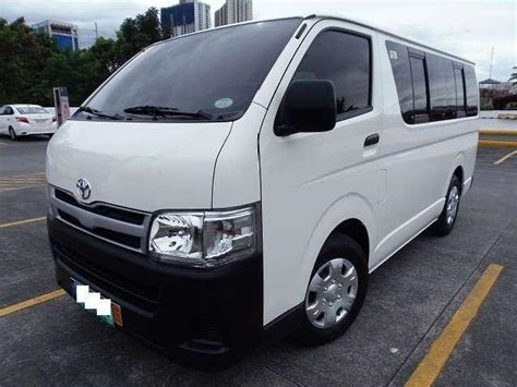 toyota hiace commuter 36 used local toyota hiace