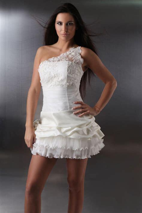 Brautkleider Vorne Mini Hinten Lang by Mini Brautkleid Kleiderfreuden