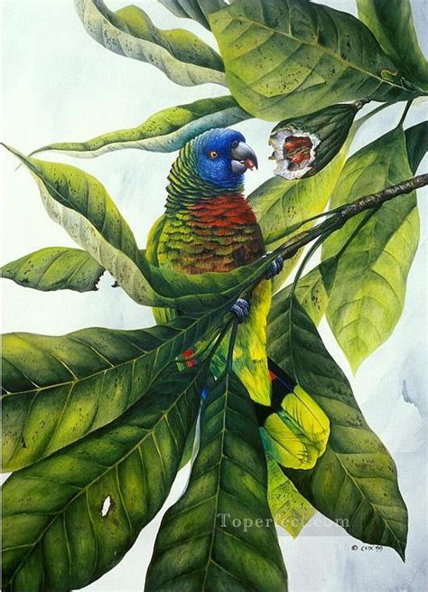 fruit birds parrot and fruit birds painting in for sale