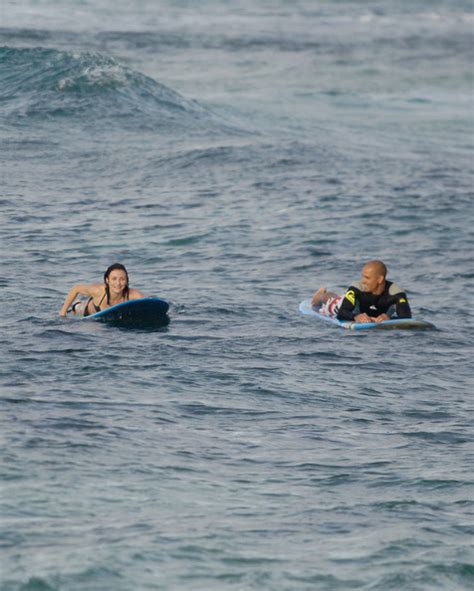 Cameron Diaz Goes Surfing by Cameron Diaz In Cameron Diaz Surfing With Slater