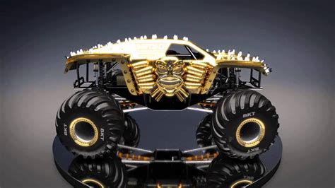 new monster jam max d gold new look for monster jam 2016 youtube