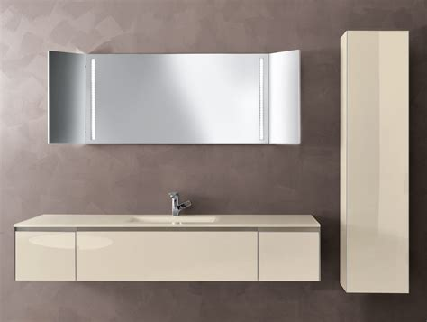 infinity i03 modular italian bathroom vanity in beige glass