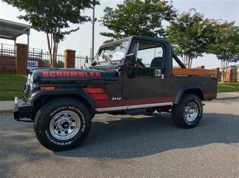 scrambler jeep years jeep cj8 scrambler for sale on classiccars com